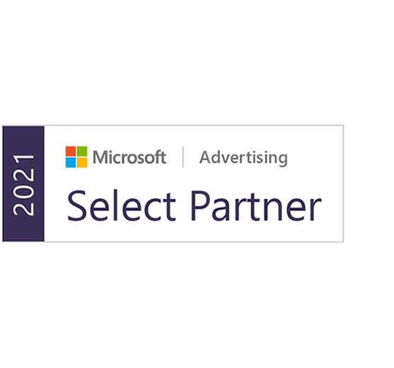 Logo Microsoft Advertising Select Agency Partner