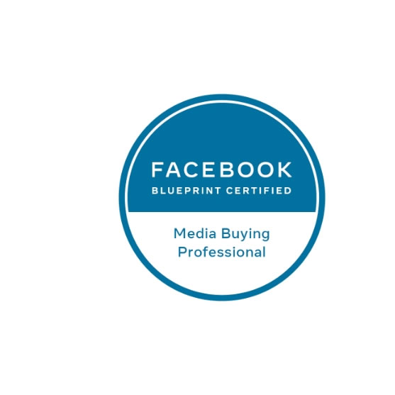 Logo Facebook Blueprint Certified Media Buying Professional