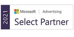 Logo Microsoft Advertising Select Partner
