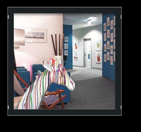 Bild Office Einblicke 5. Etage Flur