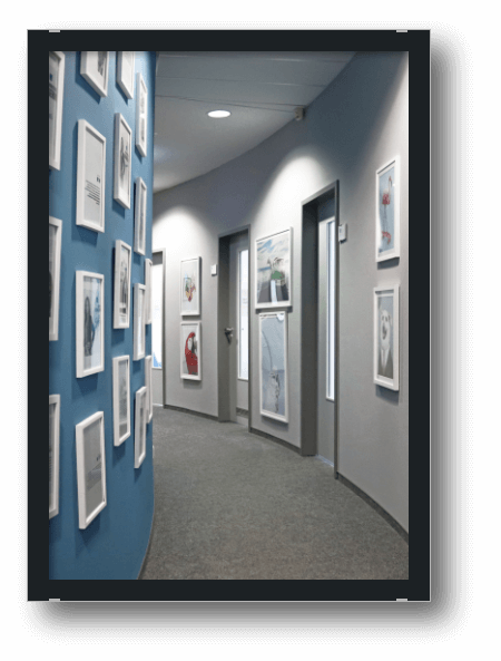 Bild Office Einblicke Flur 5. Etage