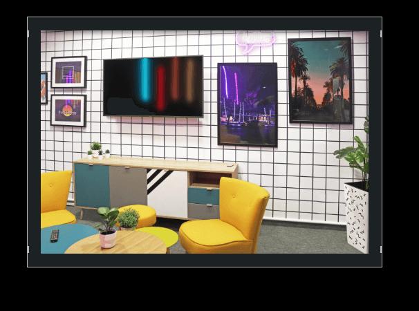 Bild Office Einblick Vice City