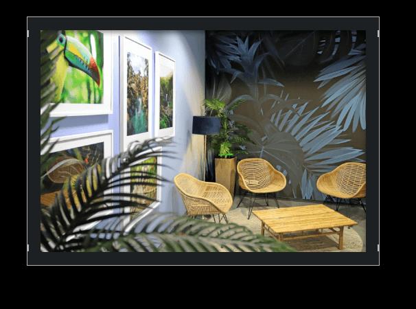 Bild Office Einblick 7. Etage Relax Room